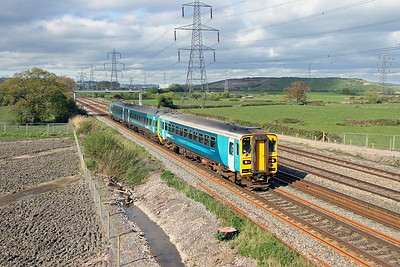 153303 Duffryn 12/04/17 2N21 Cardiff Central to Ebbw Vale Town