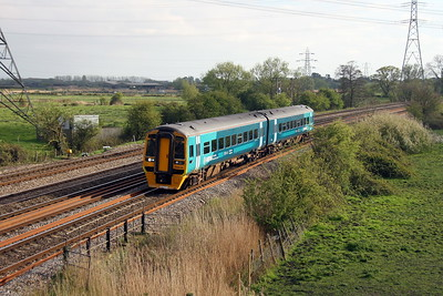158836 Duffryn 12/04/17 1W66 Milford Haven to Manchester Piccadilly