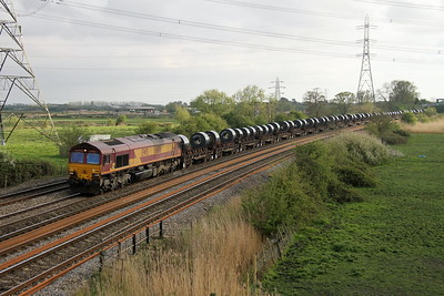 66116 Duffryn 12/04/17 6E30 Margam to Hartlepool