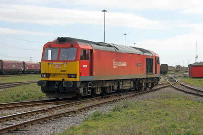 60020 Margam 12/04/17 arriving as 0B10 from Swansea Burrows Sidings