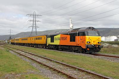 67023 Margam 12/04/17 1Q16 Landore to Derby RTC