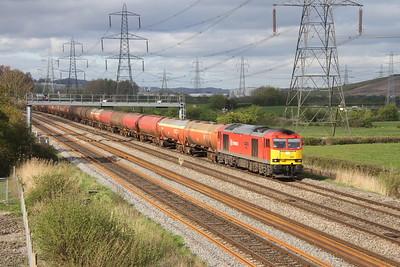 60091 Duffryn 12/04/17 6B33 Theale to Robeston