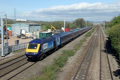 43168 Marshfield 12/04/17 1B31 London Paddington to Cardiff Central
