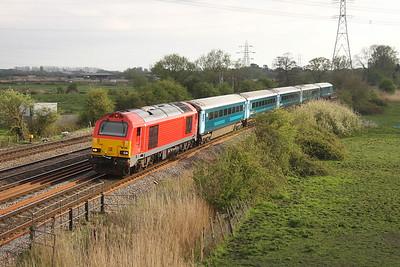 67010 Duffryn 12/04/17 1W96 Cardiff Central to Holyhead
