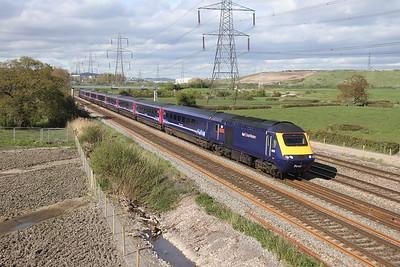 43155 Duffryn 12/04/17 1B40 London Paddington to Swansea