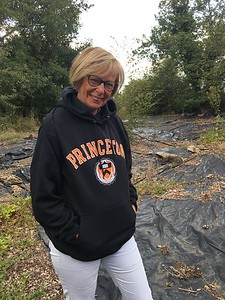First assistant of the mayor in Princeton gear, Kimberly Collins