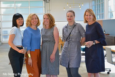 Nancy Kim, Leslie Di Corpo, Lisa Day, Ouida Biddle and Janet Hall