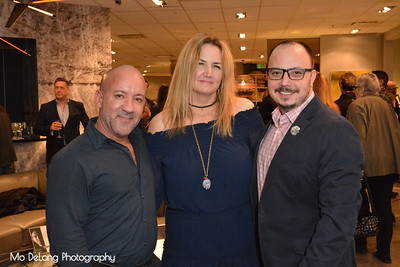 Joe Rivera, Kirstie Martinelli and Mauricio Garcia