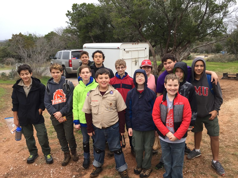 Spelunking at Colorado Bend State Park