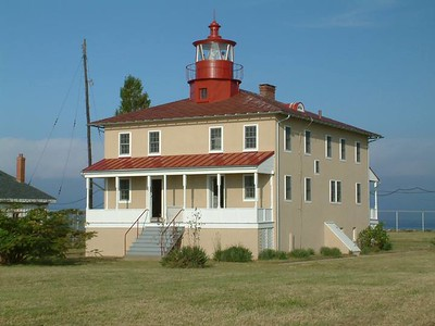 Lookout Point Lighthouse.