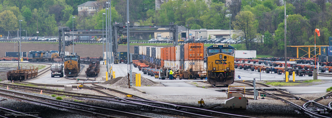 CSX Worcester Intermodal facility.