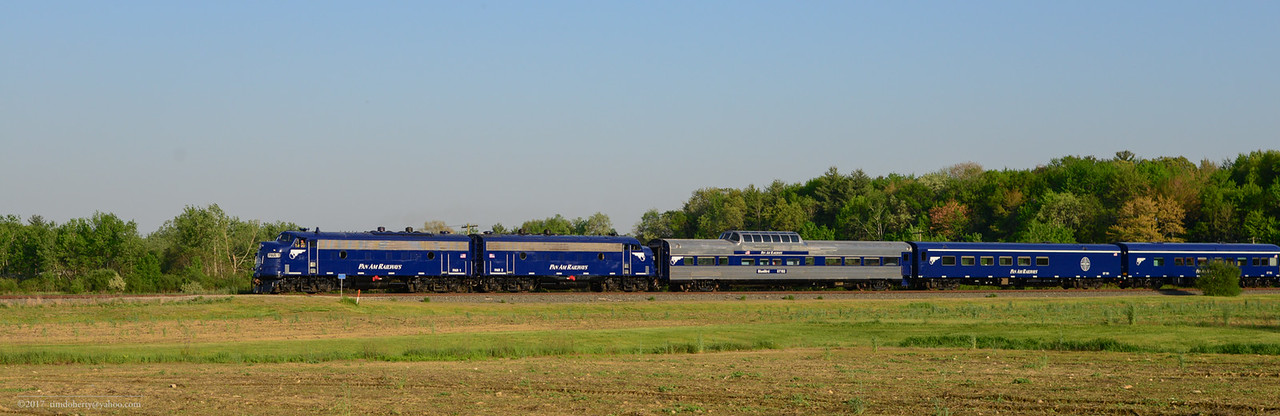 The Pan Am OCS in North Hatfield on the Conn River Line.