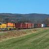 Northbound NECR at Vernon, VT.