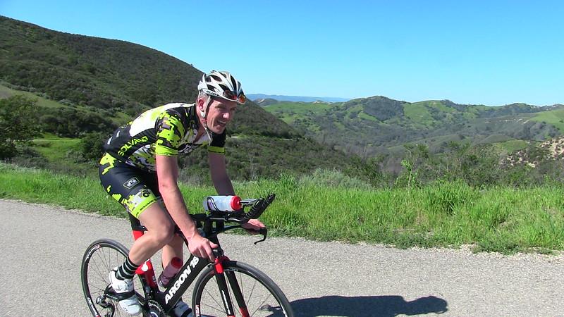 Matt and the Santa Ynez Valley views