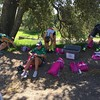 Transition area - thanks Trisports.com for supplying the great run bags!