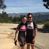 Daniel and Dana on the top of The Fig