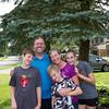 Bernie and Julie Maloney Family visit overnight in Cincinnatii Ohio.
