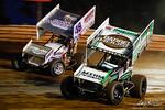 dirt track racing image - Thursday Night Thunder - Susquehanna Speedway - 3 Tim Kaeding, 48 Danny Dietrich