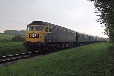 47192 Corfe Castle 06/05/17 2N22 Swanage to Norden