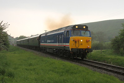 50026 Corfe Castle 06/05/17 1N09 Norden to Swanage