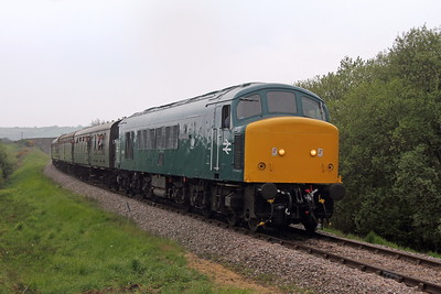 45041 Corfe Castle 06/05/17 1N10 Swanage to Norden