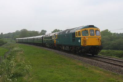 33111 Corfe Castle 06/05/17 2N23 Norden to Swanage with 33012