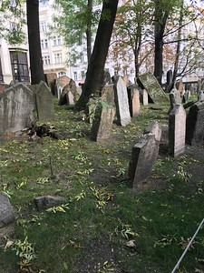 Jewish Cemetery in Prague - Grace Penn