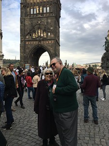Gregg and Beth touring Prague - Grace Penn