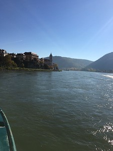 Sailing in the Wachau Valley - Grace Penn