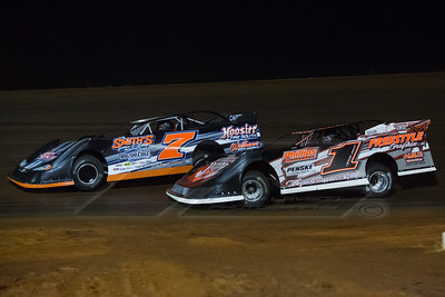 Brian Smith (7) and Jason Hiett (1)