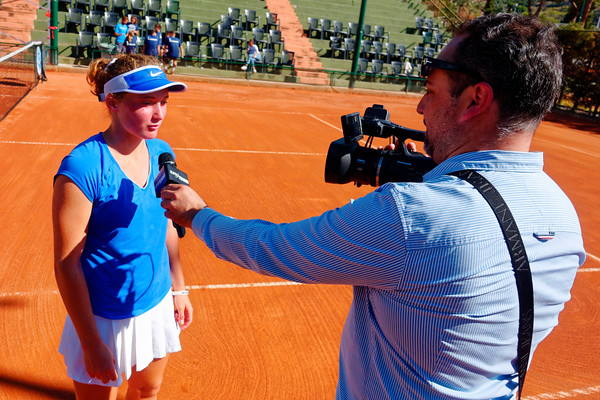 01.02c Interview with Carole Monnet - Tennis Europe Junior Masters 2017