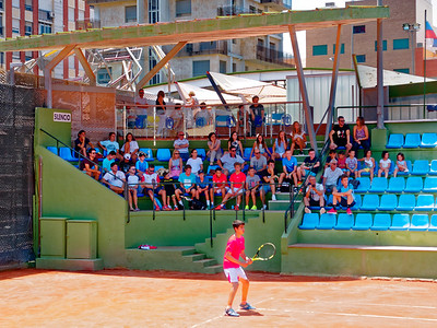 01.02 Great crowd - Tennis Europe Summer Cups final boys 14 years and under 2017
