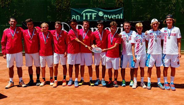 01.06c Teams - Tennis Europe Summer Cups final boys 14 years and under 2017