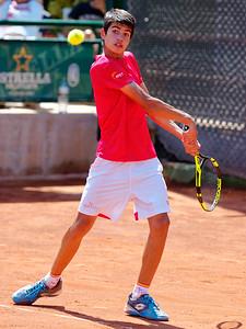 01.01c Carlos Alcaraz Garfia - Spain - Tennis Europe Summer Cups final boys 14 years and under 2017