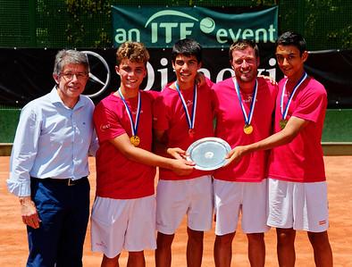 01.06b Winner - Spain - Tennis Europe Summer Cups final boys 14 years and under 2017