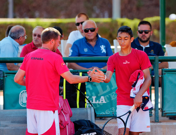 01.01g Coaching - Spain - Tennis Europe Summer Cups final boys 14 years and under 2017