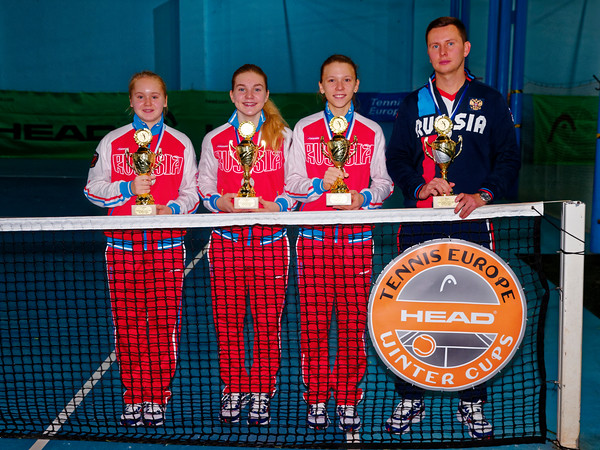 01.08b 2nd place - Russia - Tennis Europe Winter Cups by HEAD final girls 14 years and under 2017