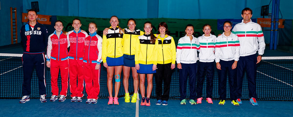 01.08 Teams - Tennis Europe Winter Cups by HEAD final girls 14 years and under 2017