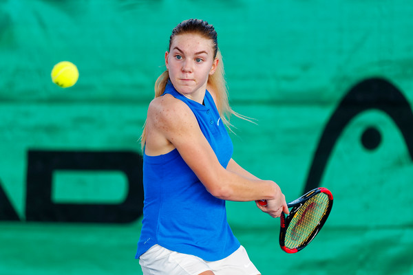01.06b Maria Timofeeva - Russia - Tennis Europe Winter Cups by HEAD final girls 14 years and under 2017