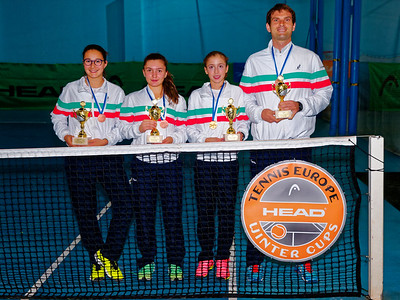 01.08a 3rd place - Italy - Tennis Europe Winter Cups by HEAD final girls 14 years and under 2017