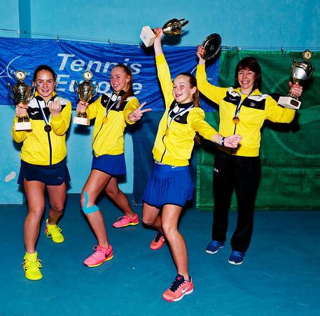 01.10a Winner - Ukraine - Tennis Europe Winter Cups by HEAD final girls 14 years and under 2017