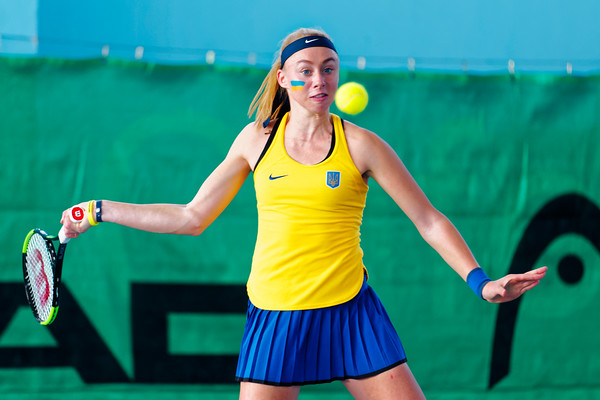 01.01 Dasha Lopatetskaya - Ukraine - Tennis Europe Winter Cups by HEAD final girls 14 years and under 2017
