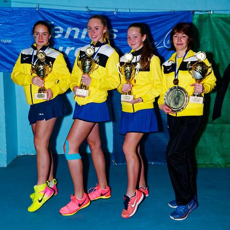 01.10 Winner - Ukraine - Tennis Europe Winter Cups by HEAD final girls 14 years and under 2017