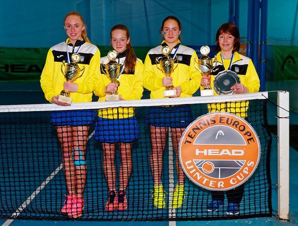 01.08c Winner - Ukraine - Tennis Europe Winter Cups by HEAD final girls 14 years and under 2017