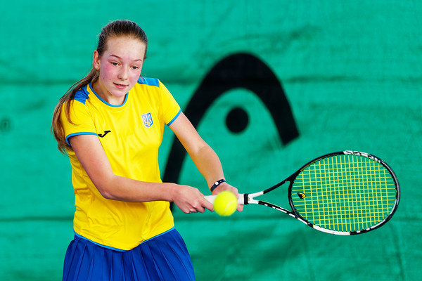 01.02a Lyubov Kostenko - Ukraine - Tennis Europe Winter Cups by HEAD final girls 14 years and under 2017