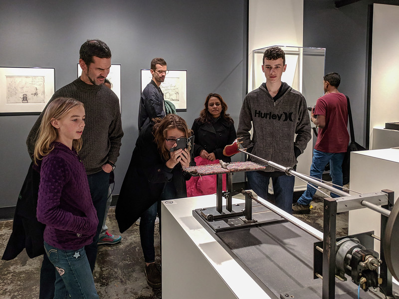 Hannah, Chip, and Joe at the MIT Museum