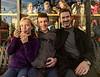 Hannah, Joe, and Chip at Toscanini's