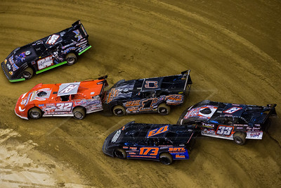 Corey Ford (84F), Bobby Pierce (32), Levi Ashby (1A), Shad Badder (173) and Tim Manville (33)