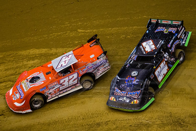Bobby Pierce (32) and Corey Ford (84F)