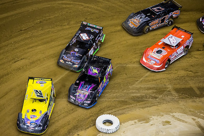 Billy Moyer (21), Rusty Schlenk (CJ1), Corey Ford (84F), Bobby Pierce (32) and Levi Ashby (1A)